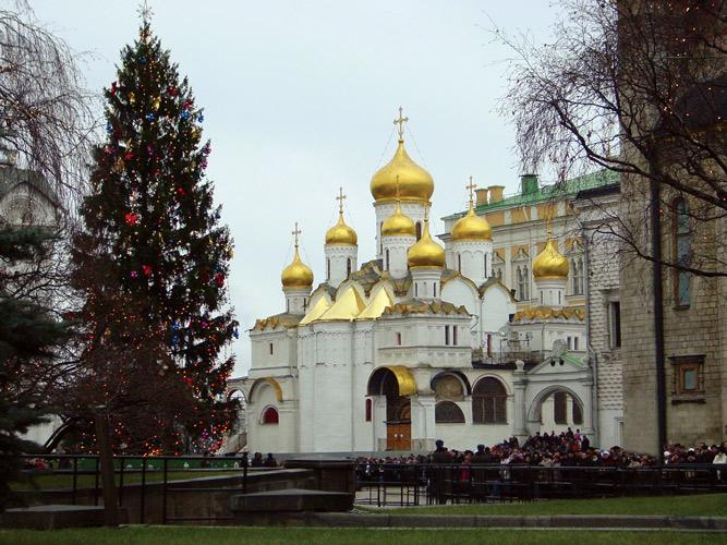 елка в Кремле - увеличить